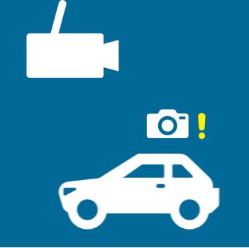 HP กล้องติดรถยนต์ รุ่น F870G