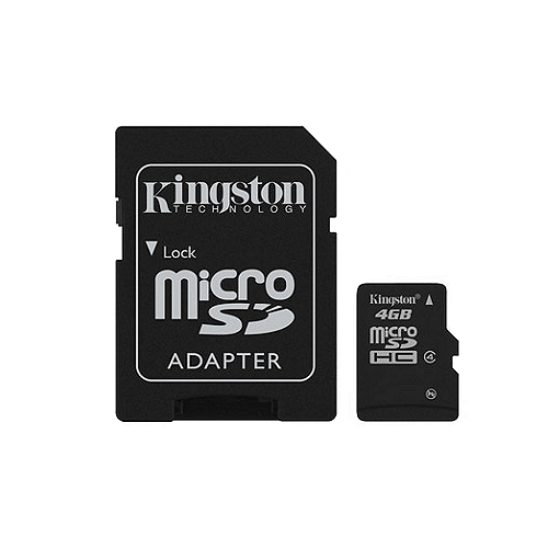 Kingston Micro SDHC 4GB (SDC4/4GB)