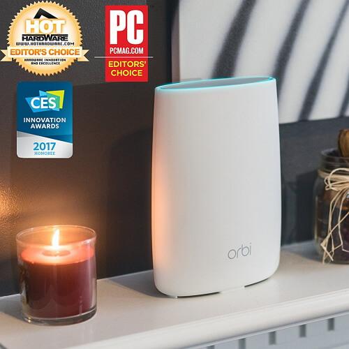 Netgear AC3000 Orbi Home WiFi System Tri Band Add-on