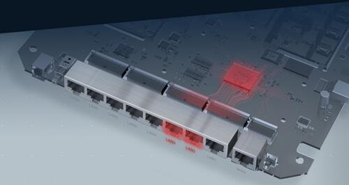 TP-Link Archer C5400x ปล่อย Wi-Fi ใช้กับอินเตอร์เน็ตไฟเบอร์