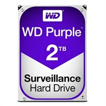 WD Purple 2TB Surveillance HDD SATA-III 5400RPM 3.5-inch Internal Hard Drive (WD20PURZ)
