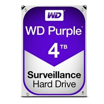 WD Purple 4TB Surveillance HDD SATA-III 5400RPM 3.5-inch Internal Hard Drive (WD40PURZ)