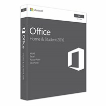 Microsoft Office Mac Home Student 2016 Eng APAC EM Medialess P2 (GZA-00980)