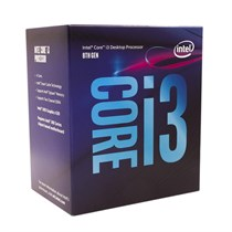 Intel CPU Core i3-8100 Processor 6M Cache, 3.60 GHz (BX80684I38100)