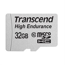 Transcend 32GB High Endurance microSDHC Card with Adapter C10 21MB/s (TS32GUSDHC10V)