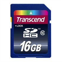 Transcend SD Card Class 10 16GB (TS16GSDHC10)