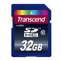 Transcend SD Card Class 10 32GB (TS32GSDHC10)