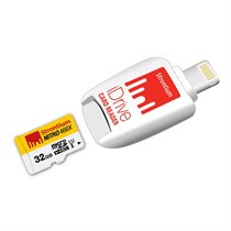 Strontium 32GB Nitro iDrive OTG Card Reader Lighting USB 3.0 (SRN32GTFU1D)