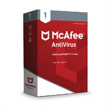 McAfee Antivirus Virtual Activation Card (MCAFEEAV1PC)