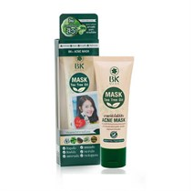 BK Acne Mask Tea Tree Oil Green Tea 35g