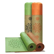 Jason Lotus Yoga Mat Green (JS0334)