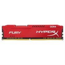 Kingston HyperX FURY 16GB 2400MHz DDR4 CL15 DIMM Red (HX424C15FR/16)