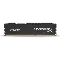 Kingston HyperX Fury 8GB 1600MHz DDR3 CL10 DIMM Black (HX316C10FB/8)