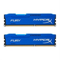 Kingston HyperX FURY 8GB Kit (2x4GB) 1866MHz DDR3 CL10 DIMM Blue (HX318C10FK2/8)
