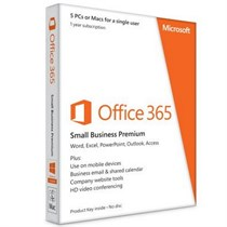 Office 365 Small Bus Prem 32-bit/x64 English Subscr 1YR APAC Medialess (6SR-00002)