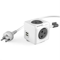 Allocacoc PowerCube Extended USB (Cable 3M)
