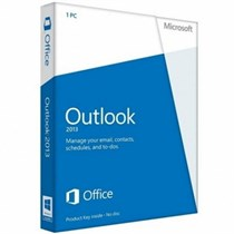 Outlook 2013 32-bit/x64 English DVD (543-05748)