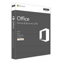 Microsoft Office Mac Home  Business 1PK 2016 English Only EM Medialess (MCS-W6F-00882)
