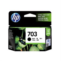 HP 703 Black Original Ink Advantage Cartridge (CD887AA)