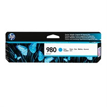 HP 980 Cyan Original Ink Cartridge (D8J07A)