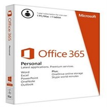 Microsoft Office 365 Personal- Thai Subscr 1 YR Thailand Only Medialess P2 (MCS-QQ2-00609)