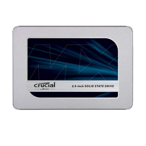 Crucial MX500 500GB 3D NAND SATA-III 2.5-Inch Internal SSD (CT500MX500SSD1)