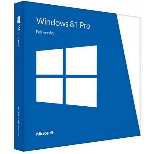 Windows Pro 8.1 32-bit/64-bit Eng Intl DVD FPP (FQC-06914)