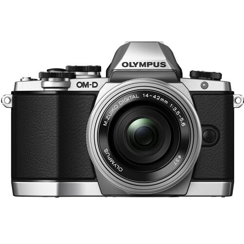 Olympus OM-D E-M10 With 14-42mm EZ Kit