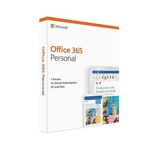 Microsoft FPP Office 365 Personal English APAC EM Subscr 1YR Medialess P4 (QQ2-00807)